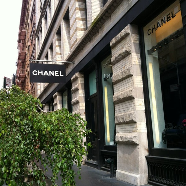 Photo taken at CHANEL Boutique by Vanessa N. on 9/1/2013
