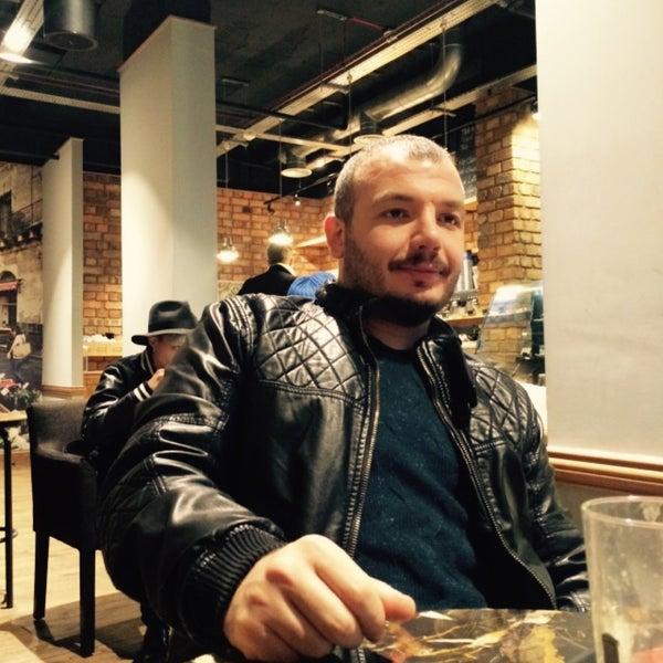 Photo taken at Caffè Nero by Erkan on 2/22/2015