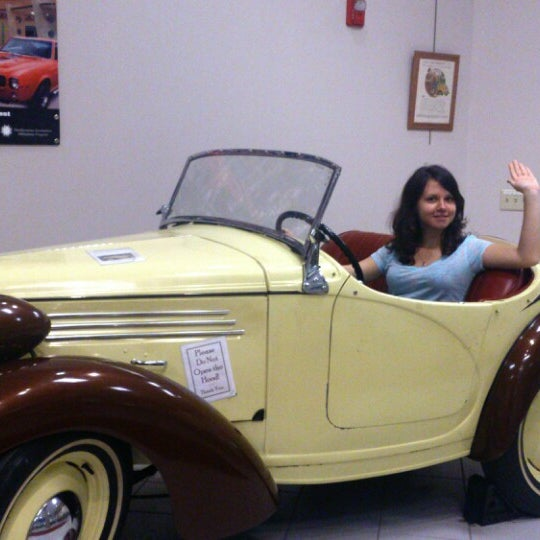 Photo taken at The Antique Automobile Club of America Museum by Olga N. on 7/5/2014