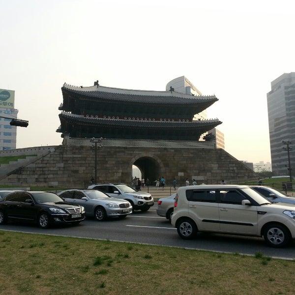 Photo taken at Sungnyemun by MK K. on 5/23/2013