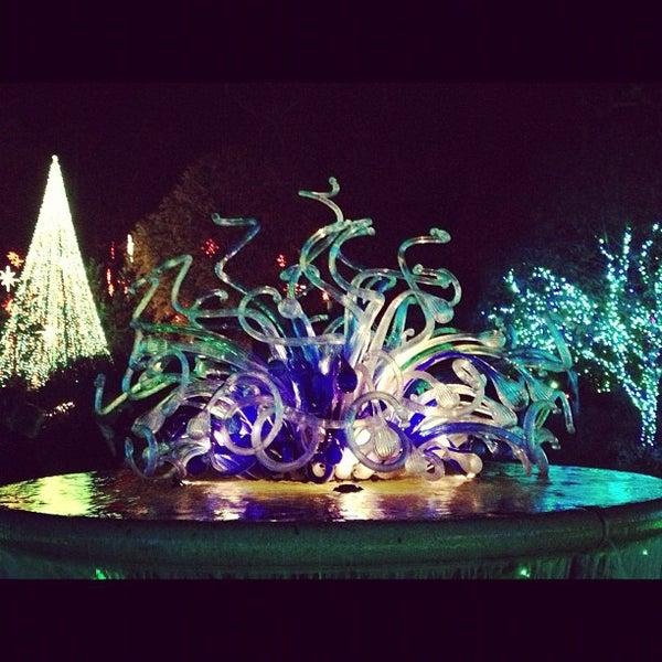 Photo taken at Atlanta Botanical Garden by Taj A. on 11/22/2012