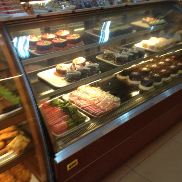 Photo taken at Mawar Bakery and Cake Shop by Silvia N. on 3/19/2013