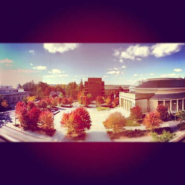 Photo taken at Bailey Hall by Hunter on 10/11/2012
