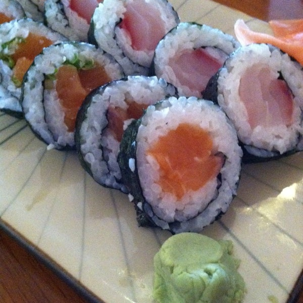 Photo taken at Yabi Sushi by Trisha P. on 8/24/2014