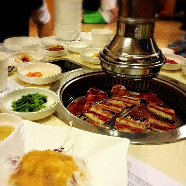 Photo taken at Daorae Korean BBQ Restaurant by Tricia T. on 6/18/2015