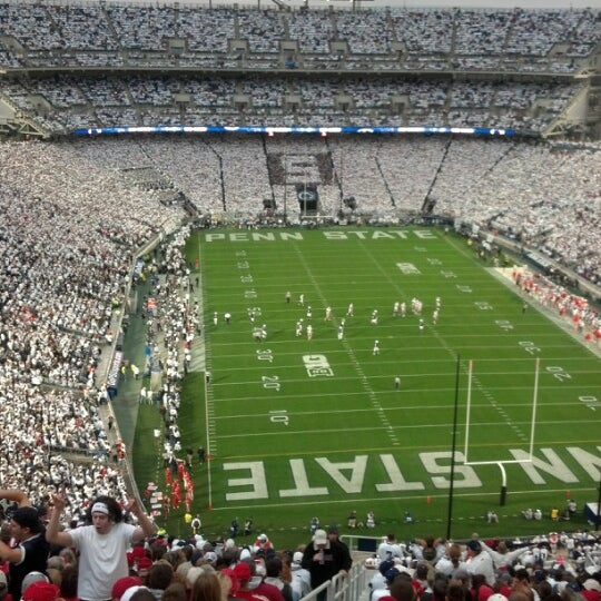 Photo taken at Beaver Stadium by Mike V. on 10/27/2012