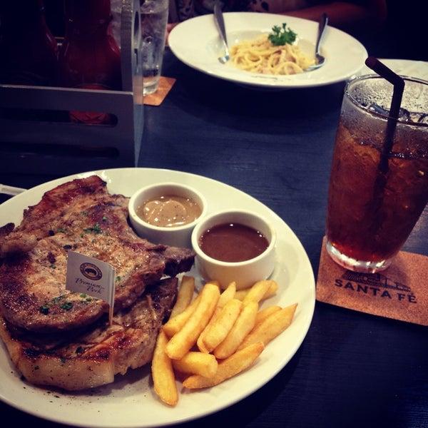Photo taken at Santa Fe' Steak & More by cassiorose on 10/12/2014