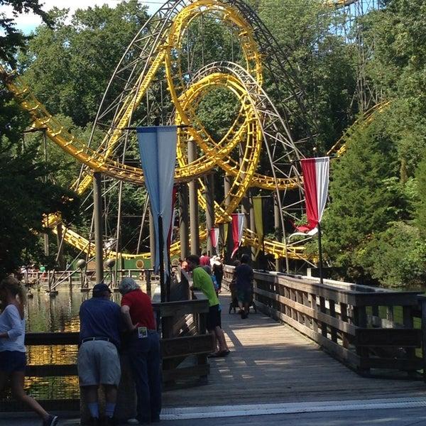 Photo taken at Busch Gardens Williamsburg by Debora Q. on 9/7/2013