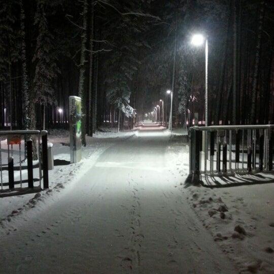 Photo taken at Dzintaru Mežaparks by Dāvis S. on 1/10/2013