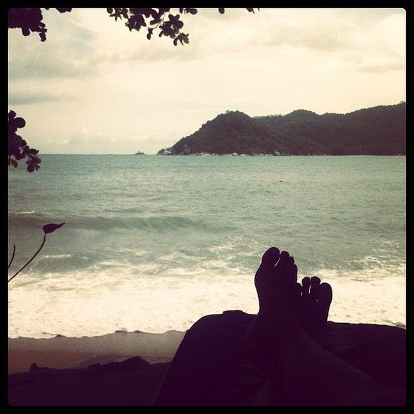 Photo taken at Santhiya Resort And Spa Koh Phangan by LAZERZBEAM L. on 12/23/2012