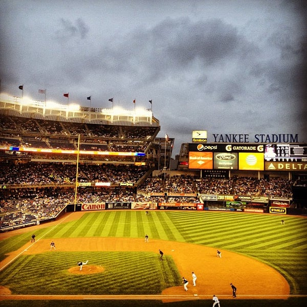Photo taken at Yankee Stadium by Nick C. on 7/12/2013
