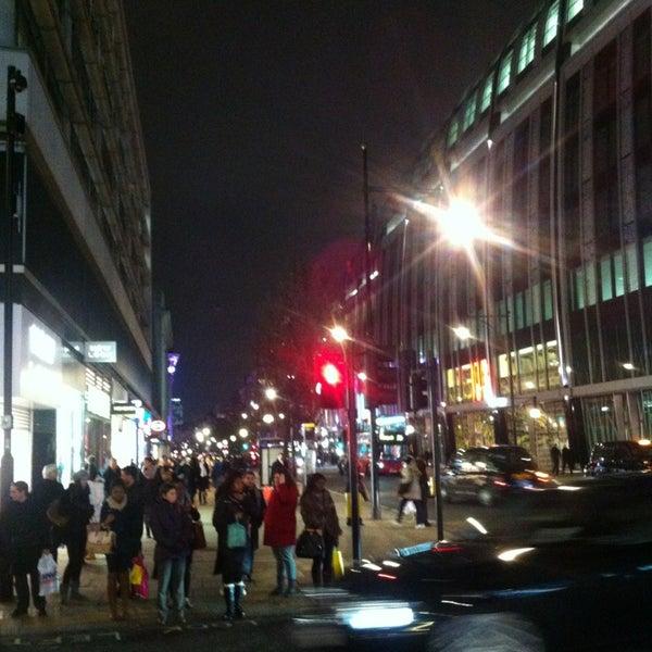 Photo taken at Oxford Street by Gizem on 1/15/2013