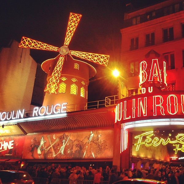 Photo taken at Moulin Rouge by Boris K. on 4/21/2013