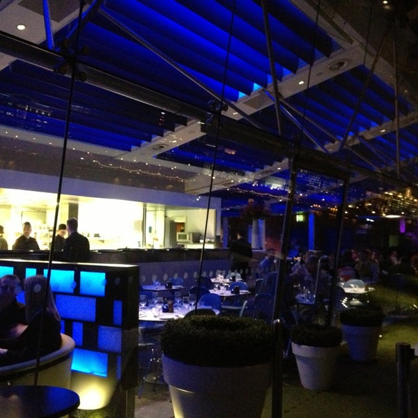 Photo taken at OXO Tower Brasserie by Yasmin N. on 3/6/2013