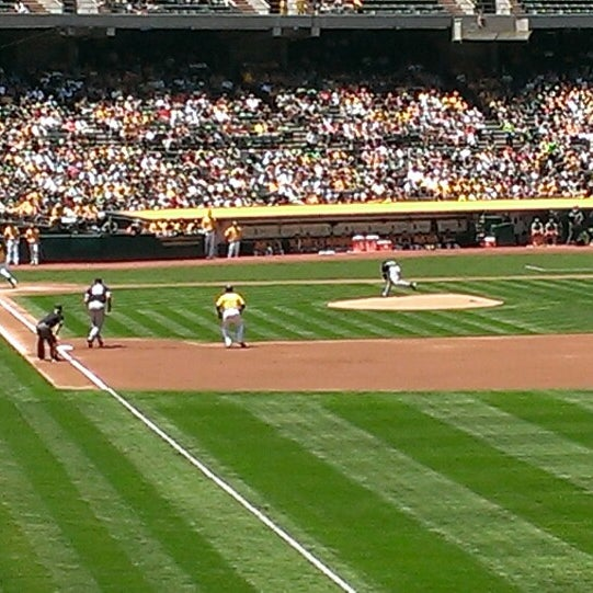 Photo taken at O.co Coliseum by John R. on 6/1/2013