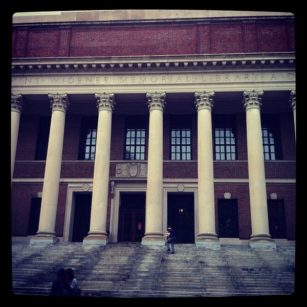 Photo taken at Widener Library by Didier B. on 5/14/2012
