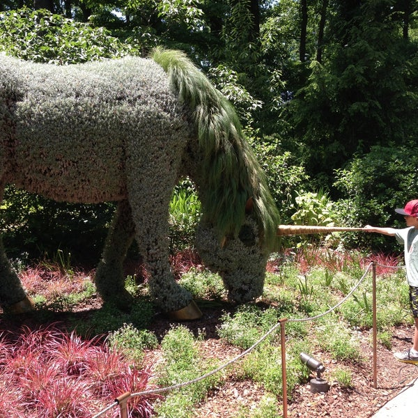 Photo taken at Atlanta Botanical Garden by Christy on 5/26/2013