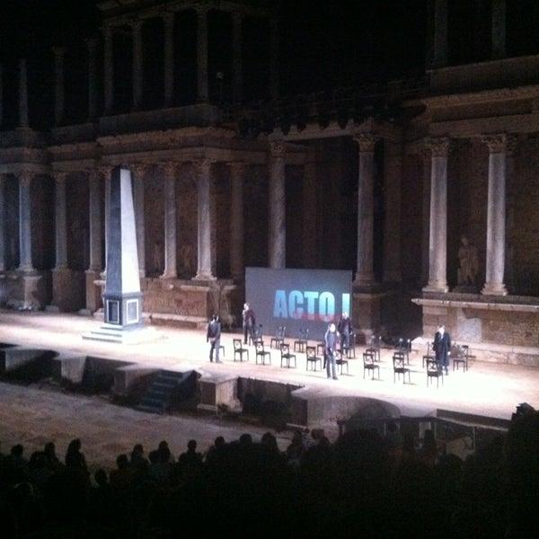 Photo taken at Anfiteatro Romano by Imelda on 7/24/2013