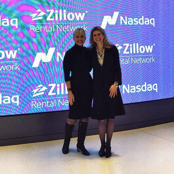 Photo taken at NASDAQ MarketSite by Jamie G. on 2/23/2015