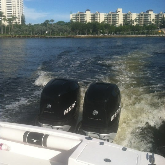 Photo taken at Lake Boca Raton by LeenO on 10/5/2012