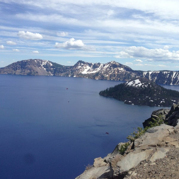 Photo taken at Crater Lake National Park by Krish A. on 6/16/2013