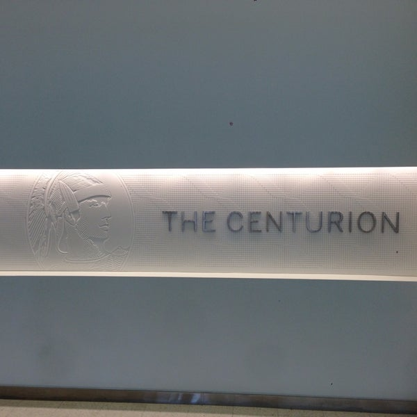 Photo taken at The Centurion Lounge by American Express by @dezchen on 8/1/2013