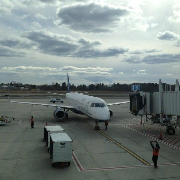 Photo taken at Portland International Jetport (PWM) by FlukE S. on 3/16/2013