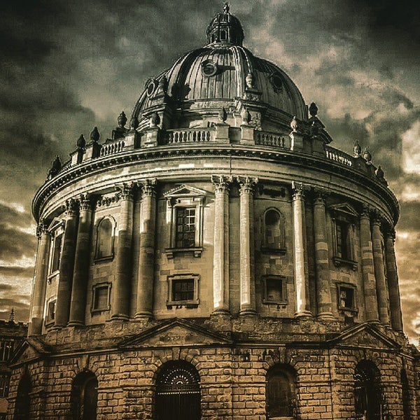 Photo taken at Radcliffe Camera by Chandni C. on 3/13/2015