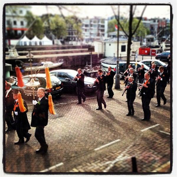Photo taken at Amstelsluis by Boris K. on 4/30/2013