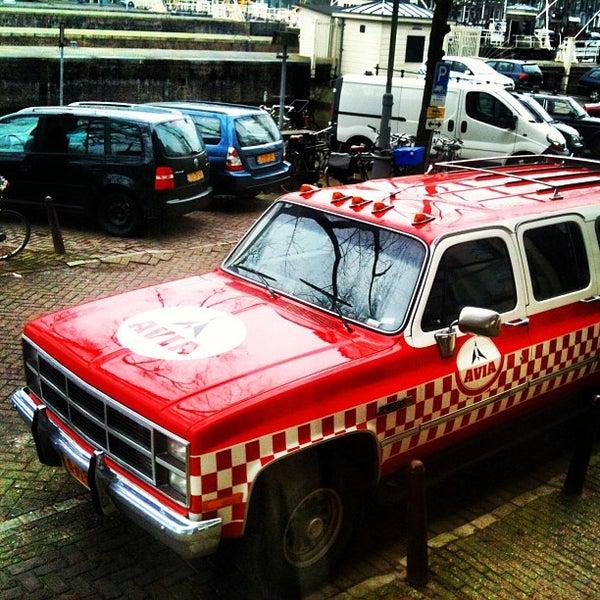 Photo taken at Amstelsluis by Boris K. on 12/14/2012