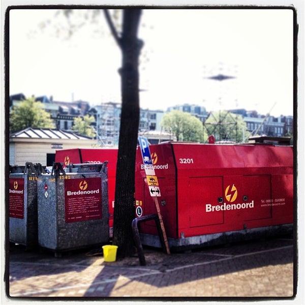 Photo taken at Amstelsluis by Boris K. on 5/6/2013