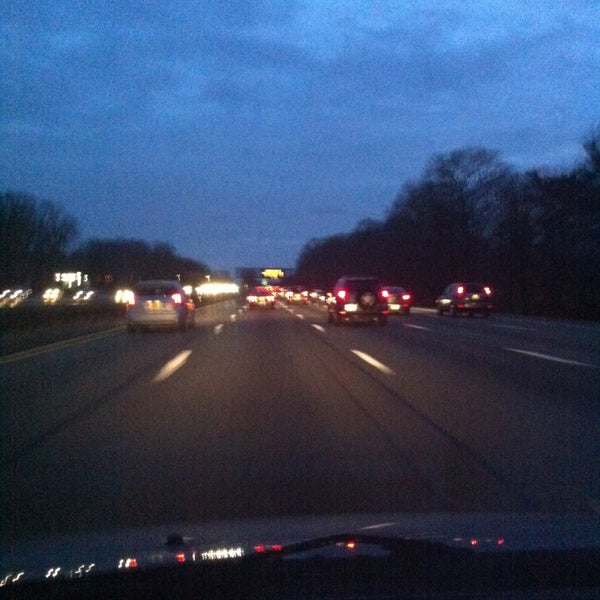 Photo taken at Garden State Parkway -- Saddlebrook by Shēhuá on 3/2/2013
