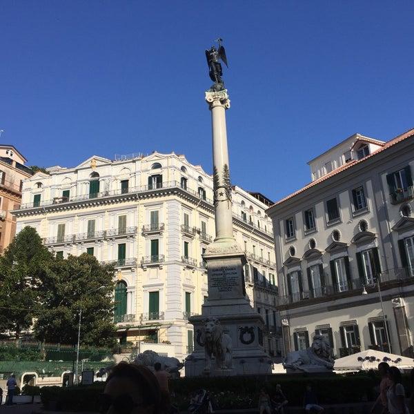 Photo taken at Piazza dei Martiri by Hande E. on 6/30/2016