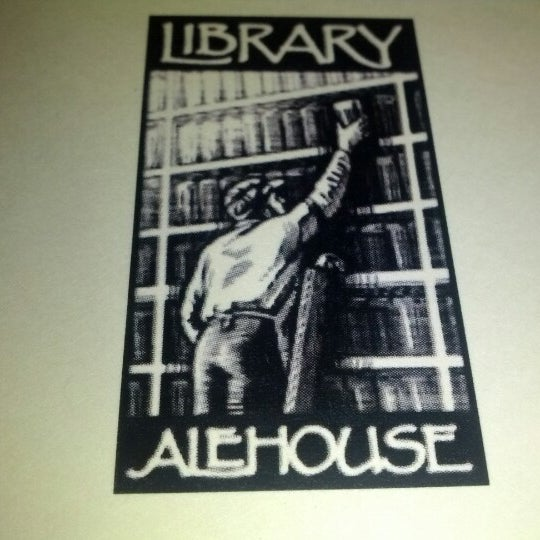 Photo taken at The Library Alehouse by Bobby B. on 12/13/2012