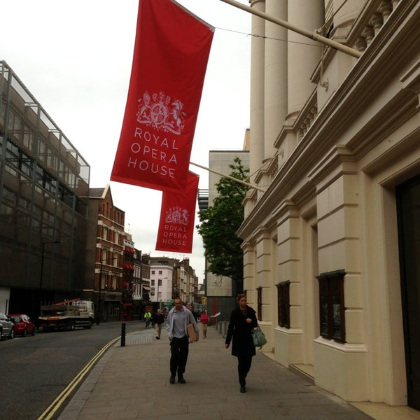 Photo taken at Royal Opera House by Foursquire on 6/10/2013
