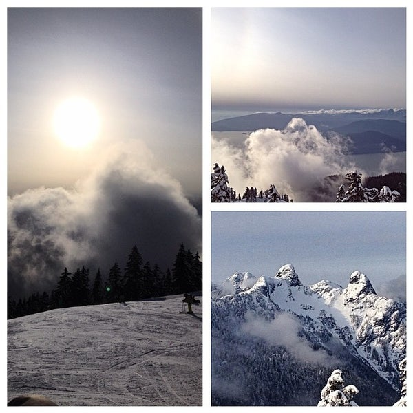 Photo taken at Cypress Mountain by Jamie K. on 3/24/2014