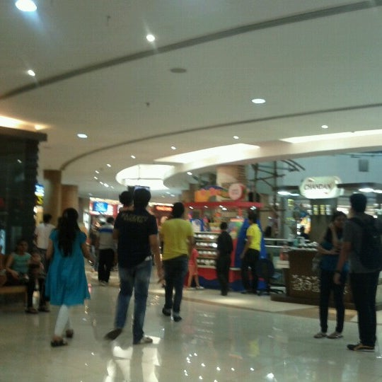 Photo taken at Inorbit Mall by Anjana D. on 9/29/2012