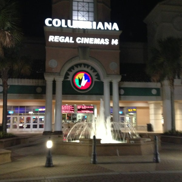 Movie Showtimes and Movie Tickets for Regal Columbiana Grande Stadium 14 located at Bower Parkway, Columbia, SC.