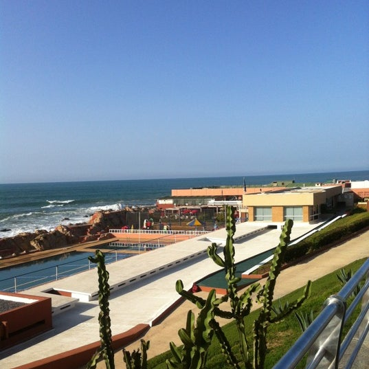 Photo taken at La Corniche de Casablanca by Abdelali   O. on 11/15/2012