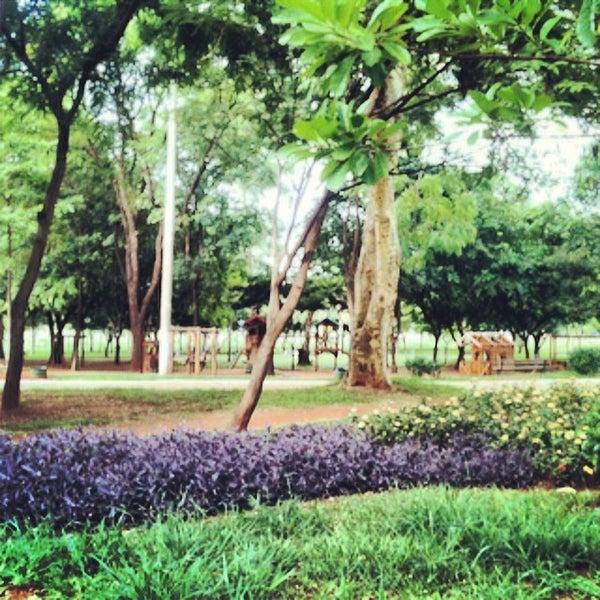 Photo taken at Parque Ecológico Maurilio Biagi by Gustavo T. on 2/23/2014
