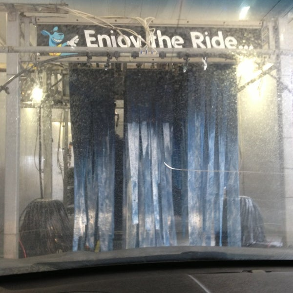 Photo taken at Boomerang Carwash by Cassie M. on 12/28/2012