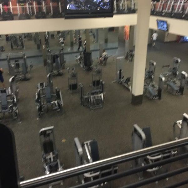 Photo taken at LA Fitness by Sneaker Highs on 7/9/2016