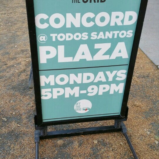 Photo taken at Todos Santos Plaza by Andrew S. on 4/12/2016