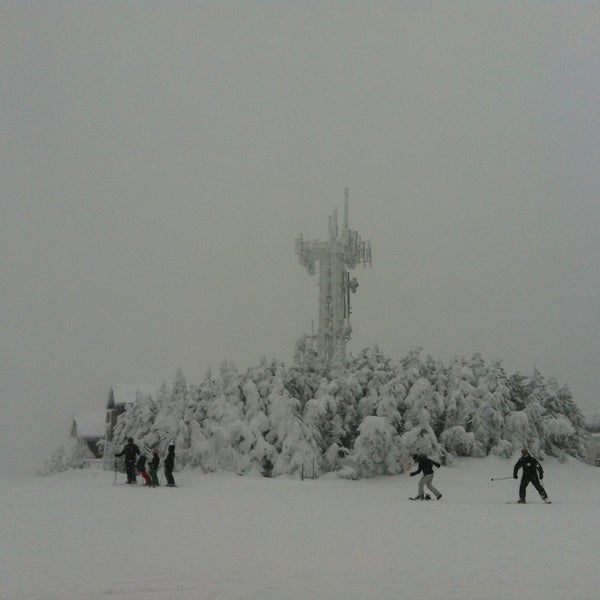 Photo taken at Stratton Summit Gondola by Juan A. on 12/30/2012