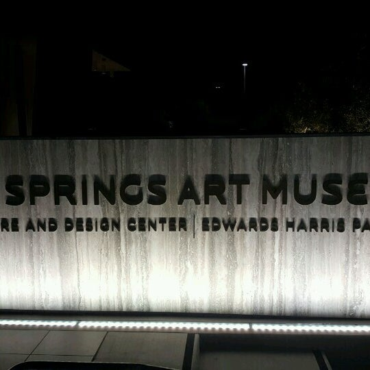 Photo taken at Palm Springs Art Museum by Joseph R. on 11/6/2016