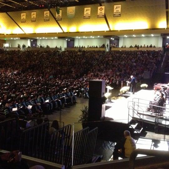 Photo taken at Allen Arena by Dedrick W. on 12/15/2012