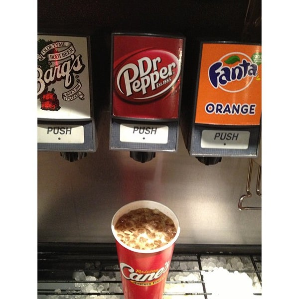 Photo taken at Raising Cane's by Chance M. on 3/27/2013