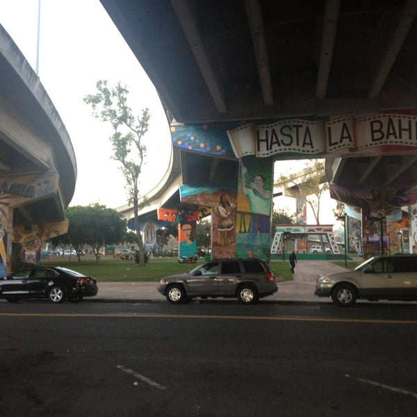 Photo taken at Chicano Park by Sara on 9/24/2013