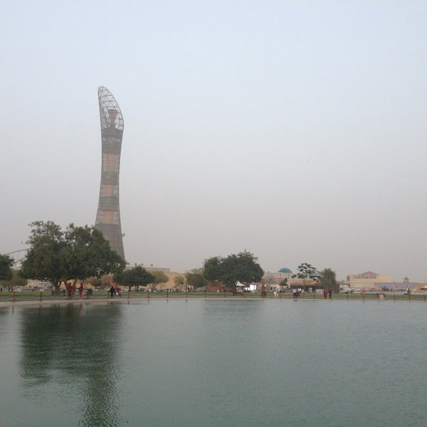 Photo taken at Aspire Park | حديقة اسباير by Mohammed A. on 4/6/2013