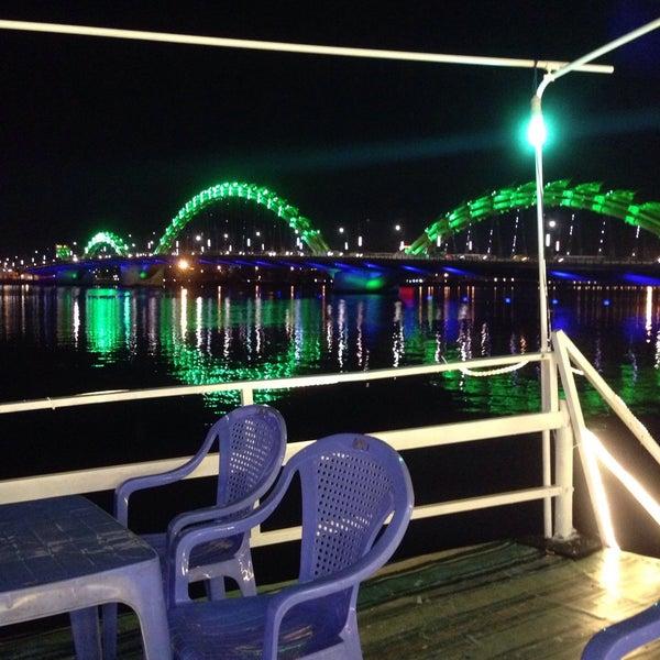 Photo taken at Cầu Sông Hàn (Han River Bridge) by anamari on 5/6/2015